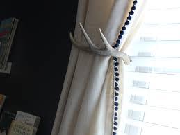 Antler Curtain Tie Backs by Curtains Nursery Stunning Woodland Nursery Curtains Curtain