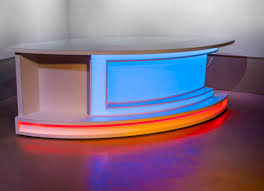 Desk News Anchor Desk Computer Desk Hideaway At2020 Stand Small