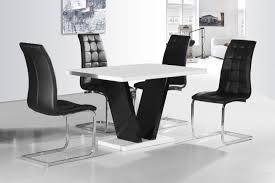 Vico White Black Gloss Contemporary Designer 120cm Dining TABLE ONLY / 4  Black / White Chairs Aldridge High Gloss Ding Table White With Black Glass Top 4 Chairs Rowley Black Ding Set And Byvstan Leifarne Dark Brown White Fnitureboxuk Giovani Blackwhite Set Lorenzo Chairs Seats Cosco 5piece Foldinhalf Folding Card Garden Fniture Set Quatro Table Parasol Black Steel Frame Greywhite Striped Cushions Abingdon Stoway Fads Hera 140cm In Give Your Ding Room A New Look Rhonda With Inspire Greywhite Kids Chair
