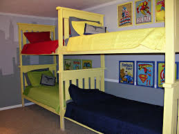 Bunk Beds DIY Quad Bunk Beds – Ana White Minecraft Bunk Beds