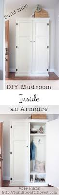 80 Best Entryway & Mudroom Images On Pinterest | Mudroom, Entryway ... Ana White Mirror Jewelry Armoire Diy Projects Wall Mounted Building Plans Home Design Ideas Kitchen Organizer Bright Diy Pantry Cabinet Computer Desk Pating Sliding Door For Tv Armoire Odworking Plans Abolishrmcom Bedroom Magnificent Long Dresser Under A Shaker Style Amish Made Wardrobe From Dutchcrafters Popular Modern Designs Closet Wine Storage In An Leaving Celestia Best 25 Tv Hutch Ideas On Pinterest Painted