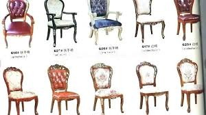 Antique Chair Styles Guide Upholstered Style Dining Es Fantastic Room Furniture E History