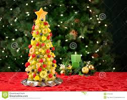 Download Fruit Christmas Tree Stock Image Of Food