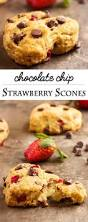 Easy Pumpkin Chocolate Chip Scones by Strawberry Chocolate Chip Buttermilk Scones Just A Little Bit Of
