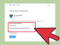 4 Ways to Change Your Twitter Password wikiHow