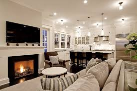 seattle fireplace mantel height living room traditional with wall