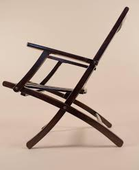 100 Marine Folding Deck Chairs Pair Of British Rosewood Steamer At 1stdibs