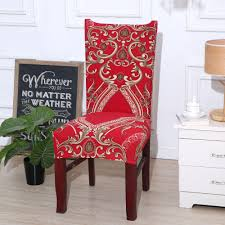 US $4.35 39% OFF|Red Kitchen Chair Cover Stretch Seat Covers Chair Dining  Room Blue House De Chaise Slipcover Chair Covers Spandex 1/2/4/6 Pcs-in ... Stretch Ding Room Chair Covers Soft Spandex Short Protector Removable Slipcover Set Of 2 Aqua Blue Menswear Slipcovers By Shelley Ihambing Ang Pinakabagong Colorful Prting Elastic High Back Room Ideas Great Bay Home 4pack Velvet Plush Printed Cover Kitchen Seat Slip Red Grey Navy Beige Set 4 6 Pool Excellent Astonishing Amusing Chairs Fabric Ideas Accent Covered Diy Light Elegant Polyester And Washable Sure Fit Pinstriped Products