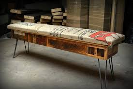 Wood Bench Plans With Storage by Reclaimed Wood Storage Bench Plans Reclaimed Wood Storage Bench