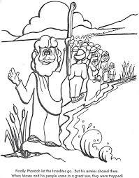 BIBLE COLORING PAGES Moses Warns Pharaoh