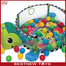 Hot Sale 3 In 1 Baby Mat Ball Pit Baby Kids Play Mat Gym Turtle