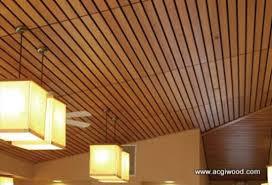 Rulon Wood Grille Ceiling closed shiplap style rulon international inc active