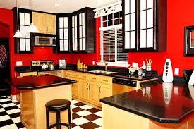 Red And White Kitchen Decor Photo 7