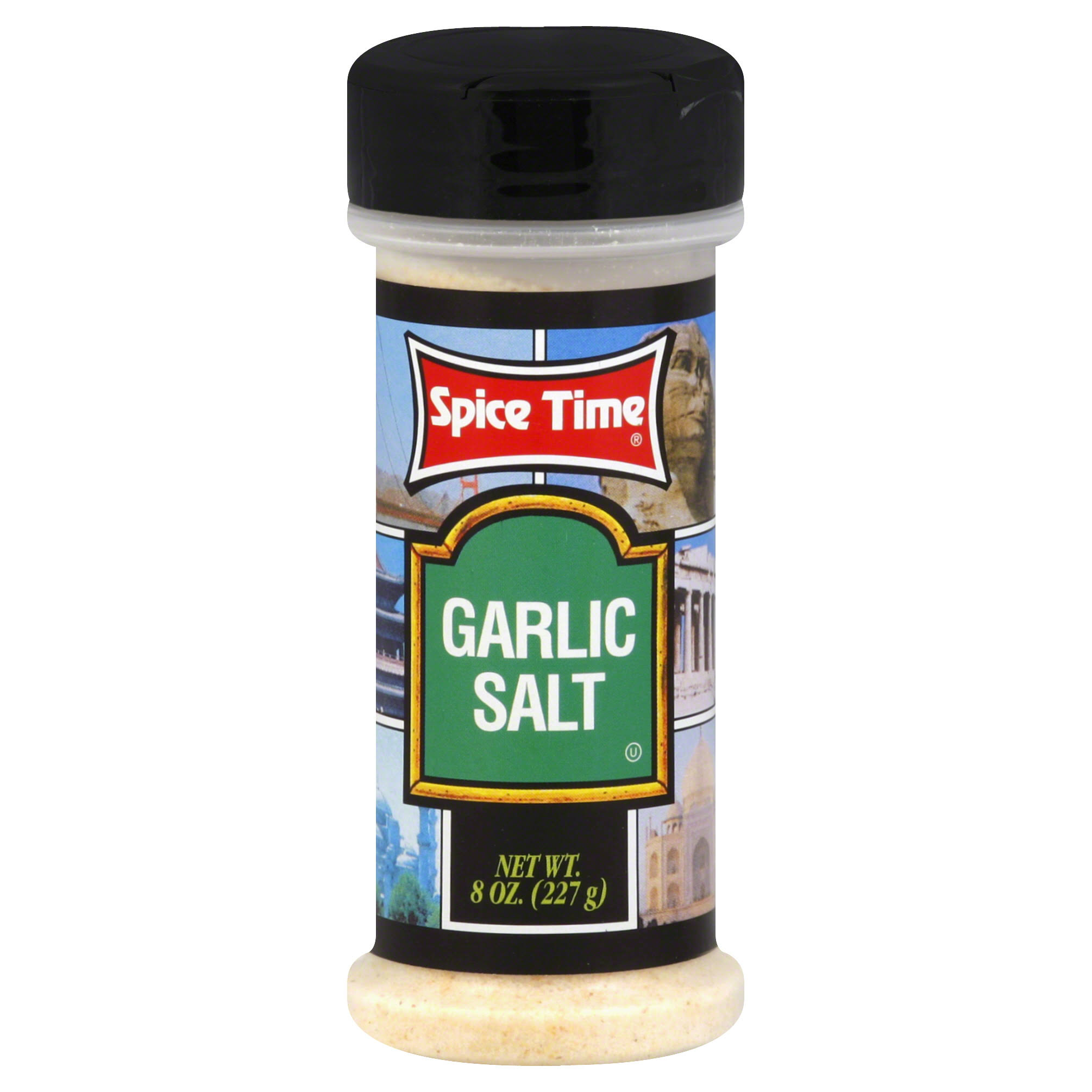 Spice Time Spice Garlic Salt - 8ct, Pack of 12