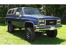 100 1989 Gmc Truck GMC Jimmy For Sale ClassicCarscom CC1107044