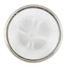 4 1 2 in od kitchen mesh sink strainer in stainless steel danco