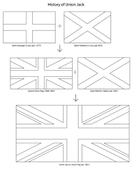 Click To See Printable Version Of Union Jack History Coloring Page