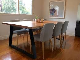 Pleasant Design Timber Dining Room Tables Table Australia Lumber Furniture For Modern Melbourne