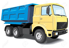100 Dump Trucks Videos Vector Isolated Truck Without Gradients Royalty Free Cliparts