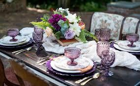 Gorgeous Purple Botanical Garden Wedding Inspiration