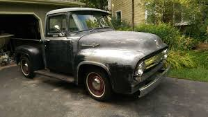 Awesome Ford 2017: 1956 Ford F-100 Custom Cab 1956 Ford F100 Pick Up ...