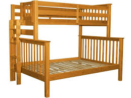 Bunk Beds Twin over Full End Ladder Honey