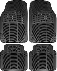 Truck Floor Mats For Toyota Tacoma 4pc Set All Weather Rubber Semi ...