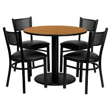 Flash Furniture 36 In. Round Natural Laminate Table Set With 4 Black ... Flash Fniture 36 In Round Natural Laminate Table Set With 4 Black Tables A Chair Affair Inc Glass Top Lovely Kitchen And Chairs Lets Talk Linens The Ultimate Guide To Linen Sizes Party Product Categories Conway Rental Center 96 X 42 Banquet Wood Folding Metal Edging Offex Ladder Back And Vinyl Seat Ofre008bkfstdr Rentals Aaa Rents Event Services Chaps Time Bars Spokane