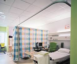 Cubicle Curtain Track Singapore by Curtain Hospital Rod Autoblinds