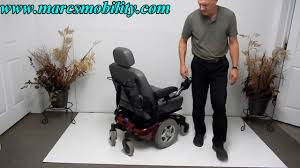 invacare pronto m94 used power chair youtube
