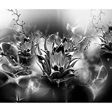 decomonkey fototapete blumen vogel 400x280 cm xl design