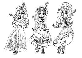 Monster High Coloring Pages Frankie Stein 13 Wishes