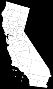 Px California Counties Outline Map Svg Awesome Websites State