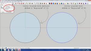 sketchup tutorial u2013 circles and segments anita brown 3d