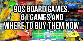 90s Board Games