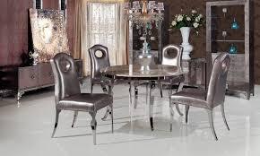 edelstahl marmor esstisch mit esszimmer set mit 4 stühle 2 leder weinschrank tv einheit leder kleinen schrank