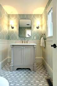 Unique Wall Covering Ideas Bathroom Wallpaper Coverings Best On Half
