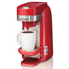 FlexBrewR Single Serve Coffee Maker Red 49960