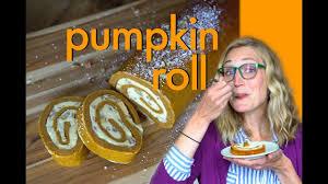 Libby Pumpkin Roll Recipe by How To Make A Pumpkin Roll Halloween Dessert Youtube