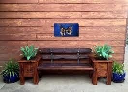 Pallet Benches Made From Recycled Pallets