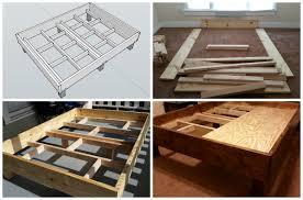 Image Of Diy Build Rustic Bed