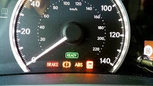 All Lights ON Brake VSC Exclamation Mark ABS