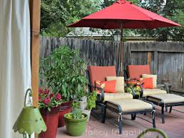 Sears Rectangular Patio Umbrella by Patio 59 Red Patio Umbrellas Walmart With Chaise Lounge And