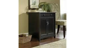 Sauder Beginnings 4 Drawer Dresser Cinnamon Cherry by Sauder Edge Water Utility Cart Free Standing Cabinet Estate Black