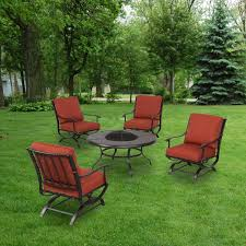 Patio Conversation Sets With Fire Pit by Replacement Cushions For Patio Sets Sold At The Home Depot