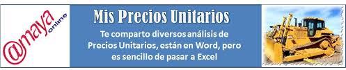 3Analisis De Costos Unitarios