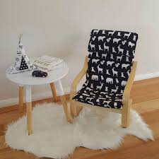 Ikea Poang Chair Cover by Children U0027s Ikea Chair Coverslip Poang Cover Kids