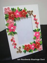 Quilled Photo Framesfirst Time Making Themlove It SOLO MODELO Para Aplicar Con Masa