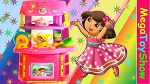 dora the explorer chef kitchen set girls toys playset dede toys