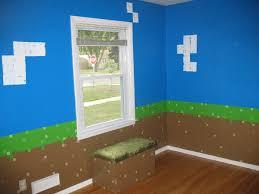 Minecraft Bedroom Wallpaper by My Daughter U0027s Minecraft Inspired Bedroom Album On Imgur